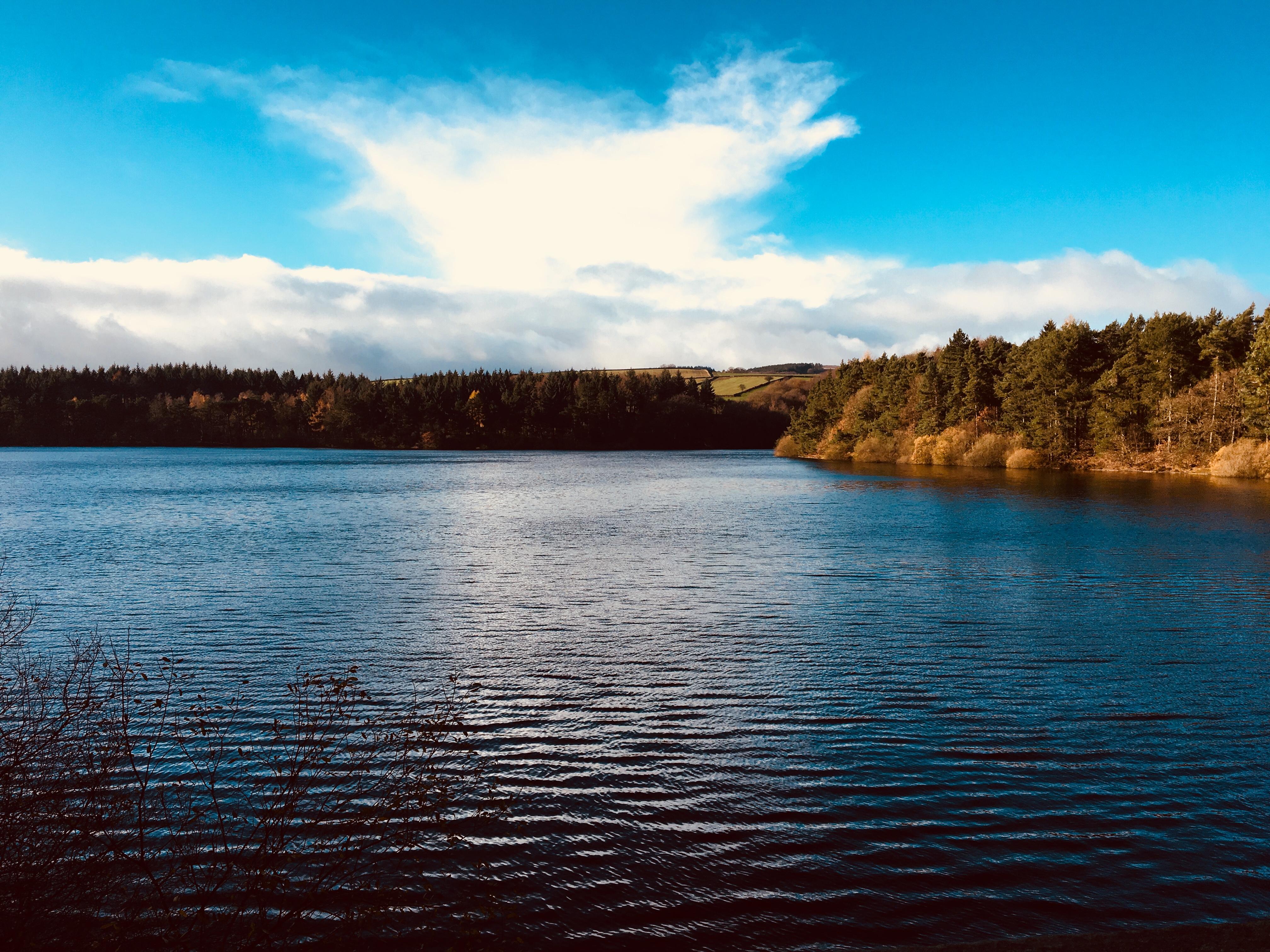 Agden reservoir near Sheffield