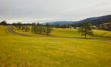 CALTON LEES TO EDENSOR, CHATSWORTH, DERBYSHIRE