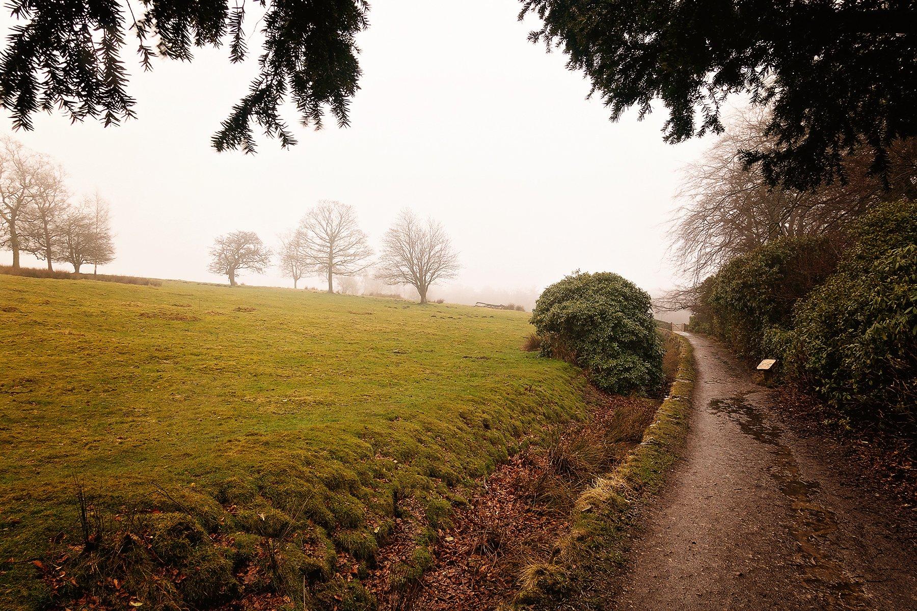 Longshaw Estate in the Peak District