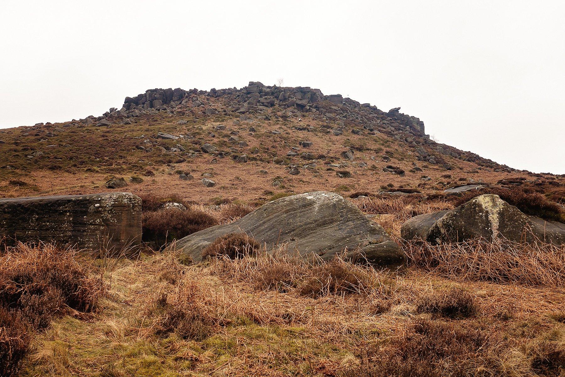Carl Wark in the Peak District