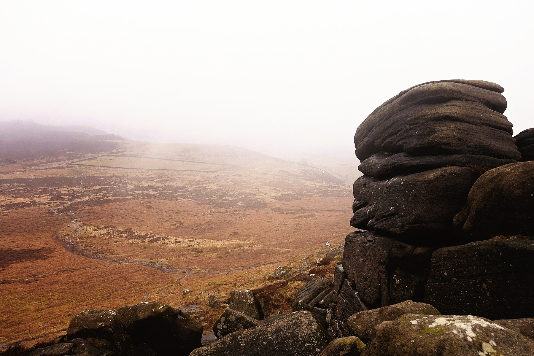 It was very foggy but I still enjoyed the mysterious views.