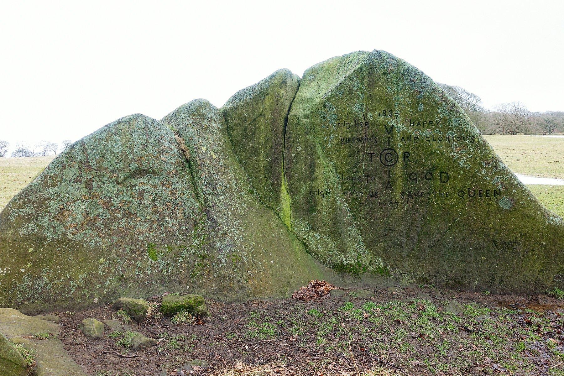 Jubilee Rock at Chatsworth