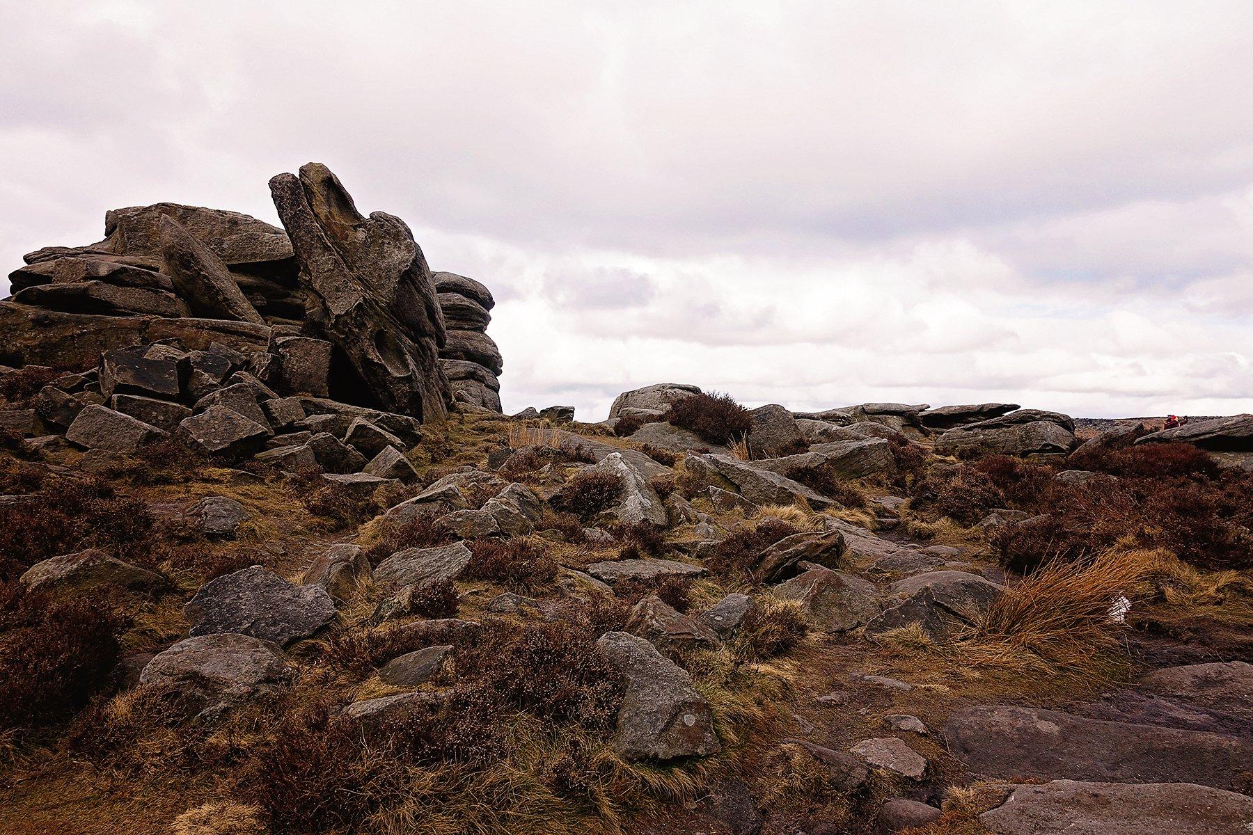 Longshaw to Upper Owler Tor walk