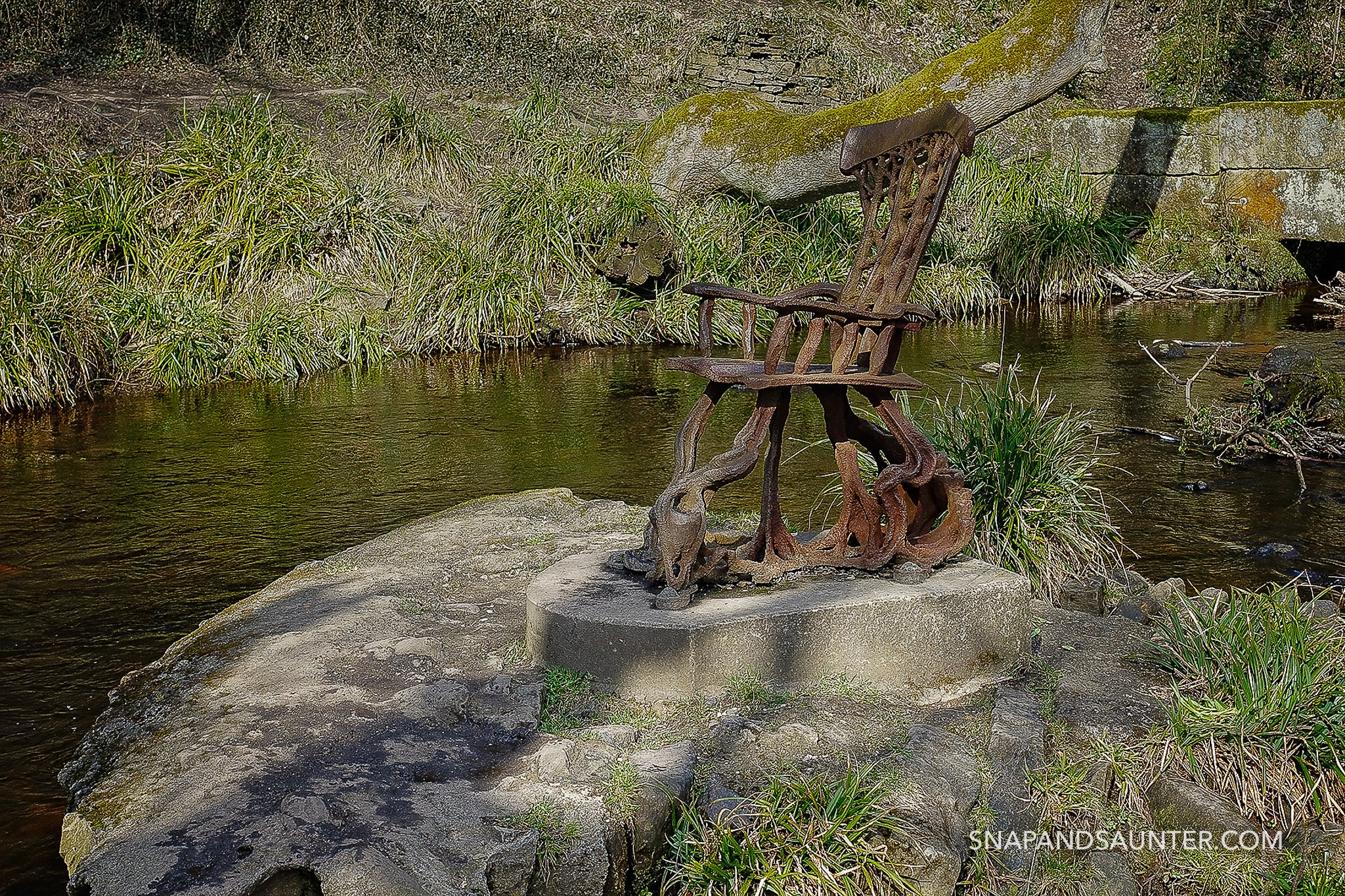 Iron Chair at Rivelin Valley in Sheffield