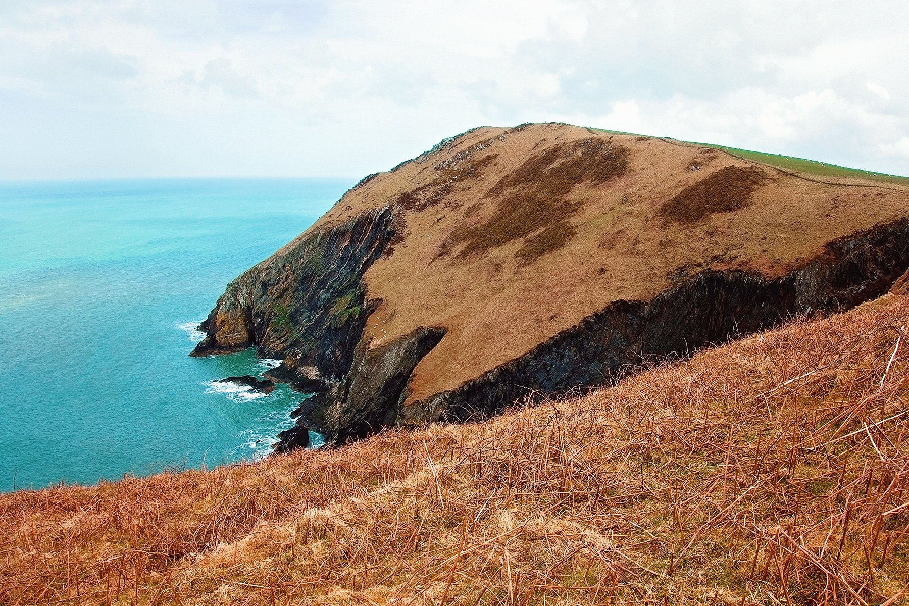 Circular walk around Dinas Island