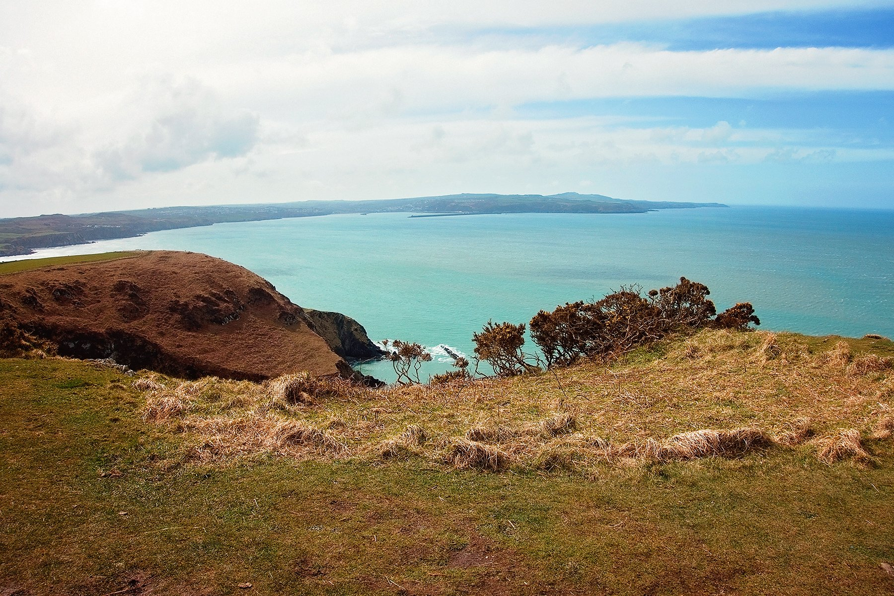 Walk around Dinas Island in Pembrokeshire
