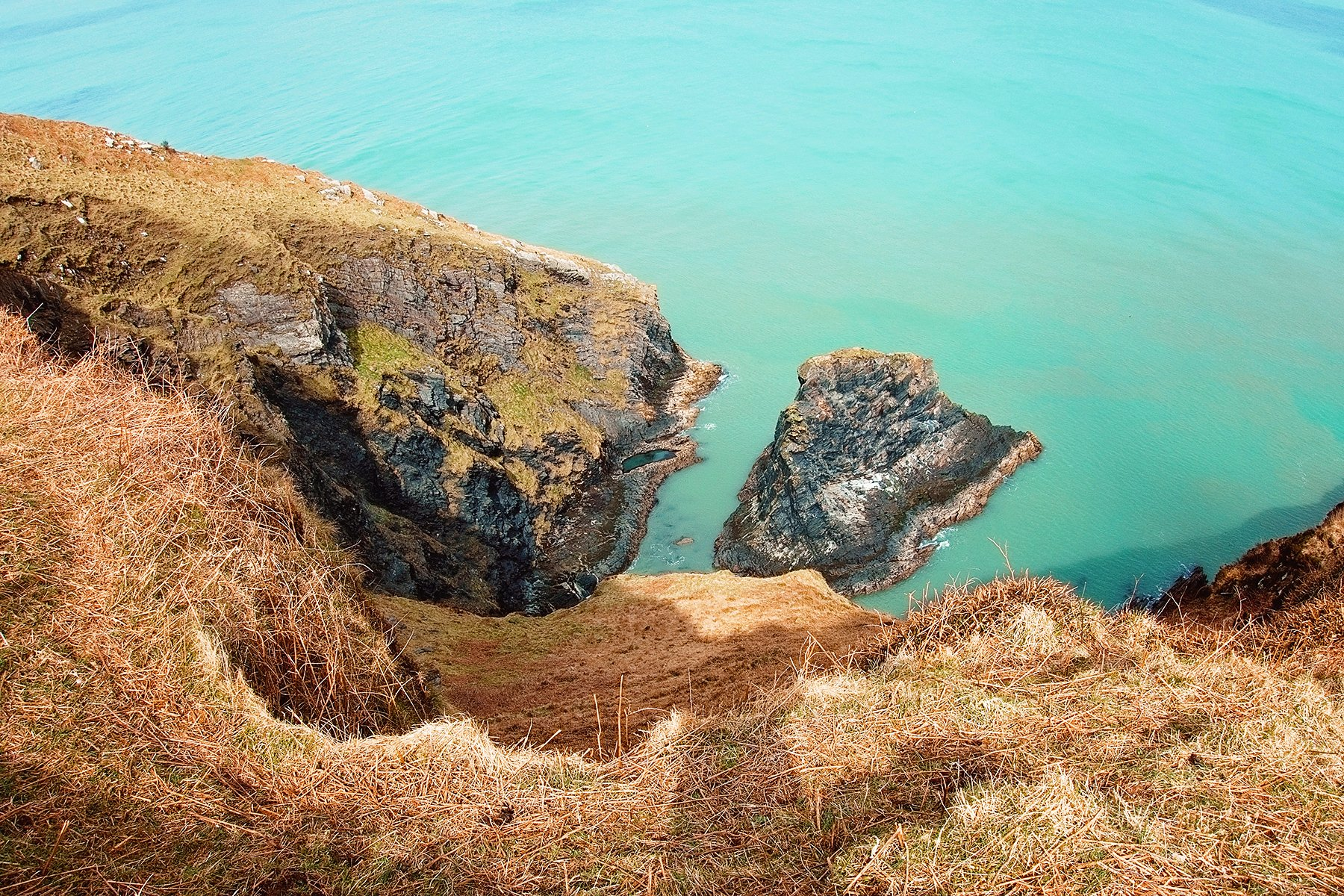 Coastal path on Dinas Island