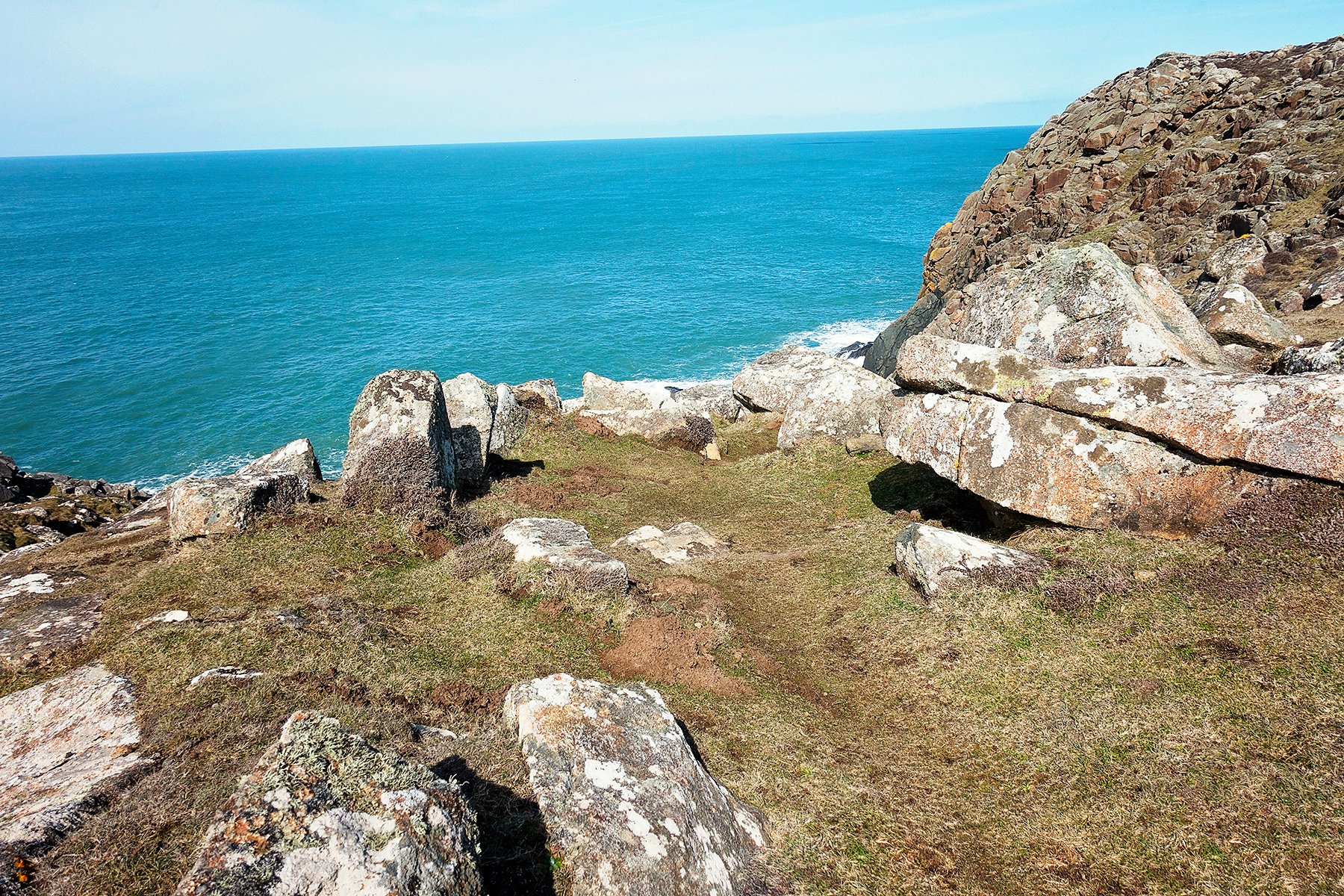 St. David's Coastal walk in Pembrokeshire