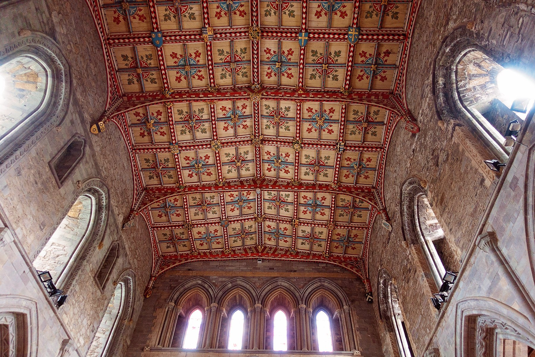 Interior of St. David's Cathedral