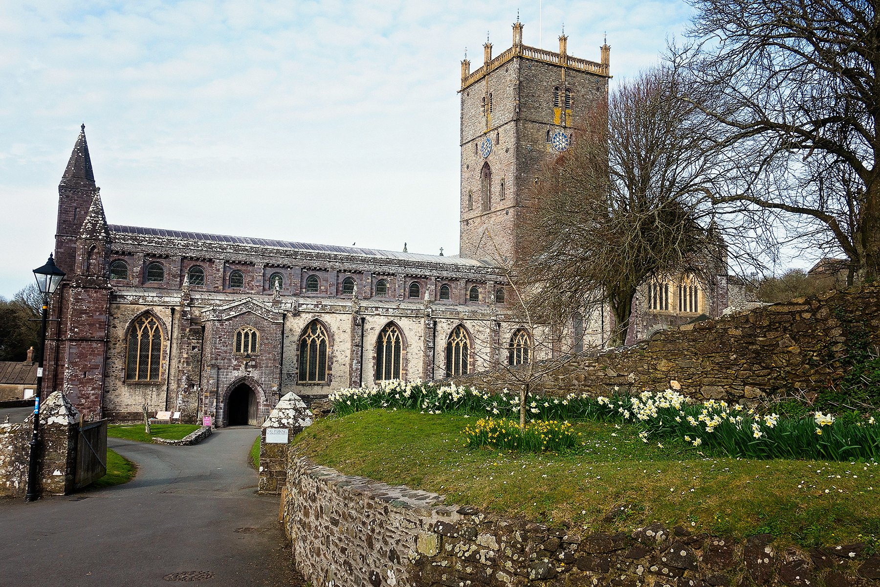 St. David's Cathedral in Pembrokeshire