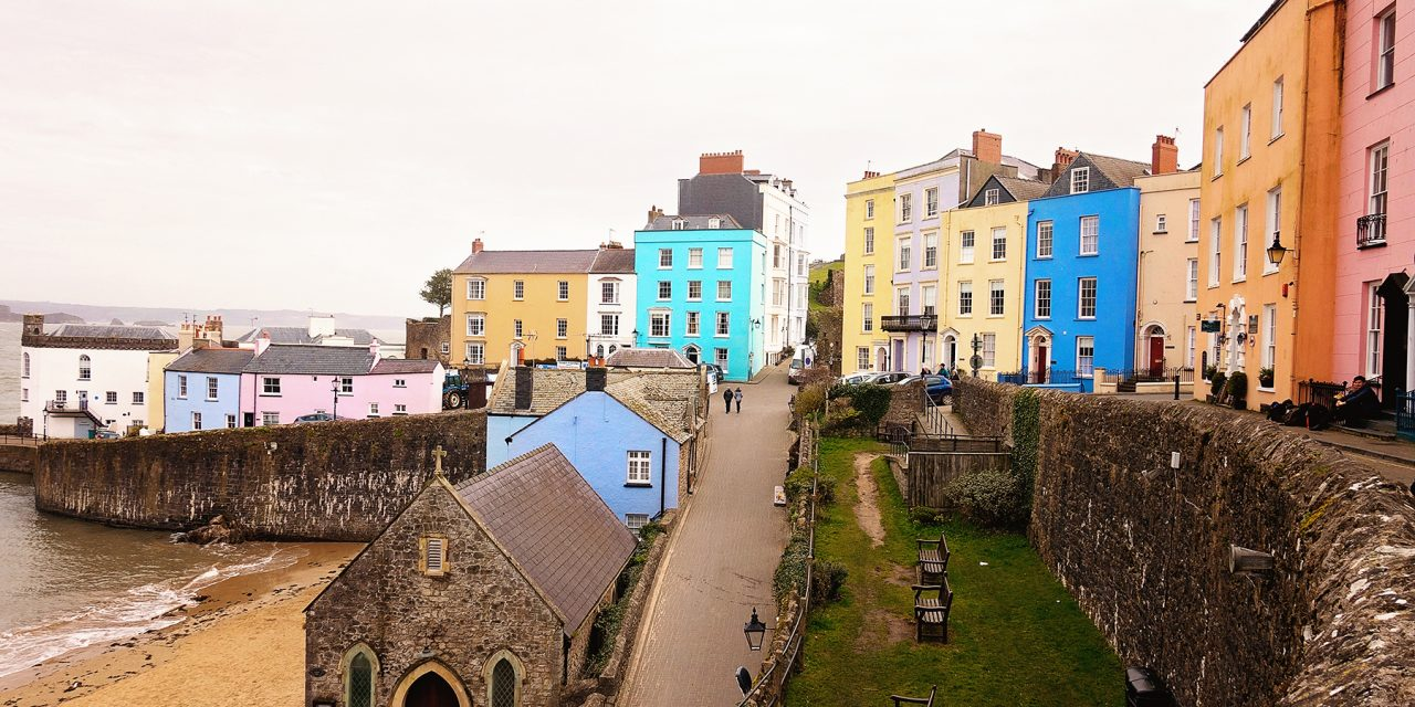 TENBY – PROBABLY THE MOST ICONIC SEASIDE TOWN IN WALES