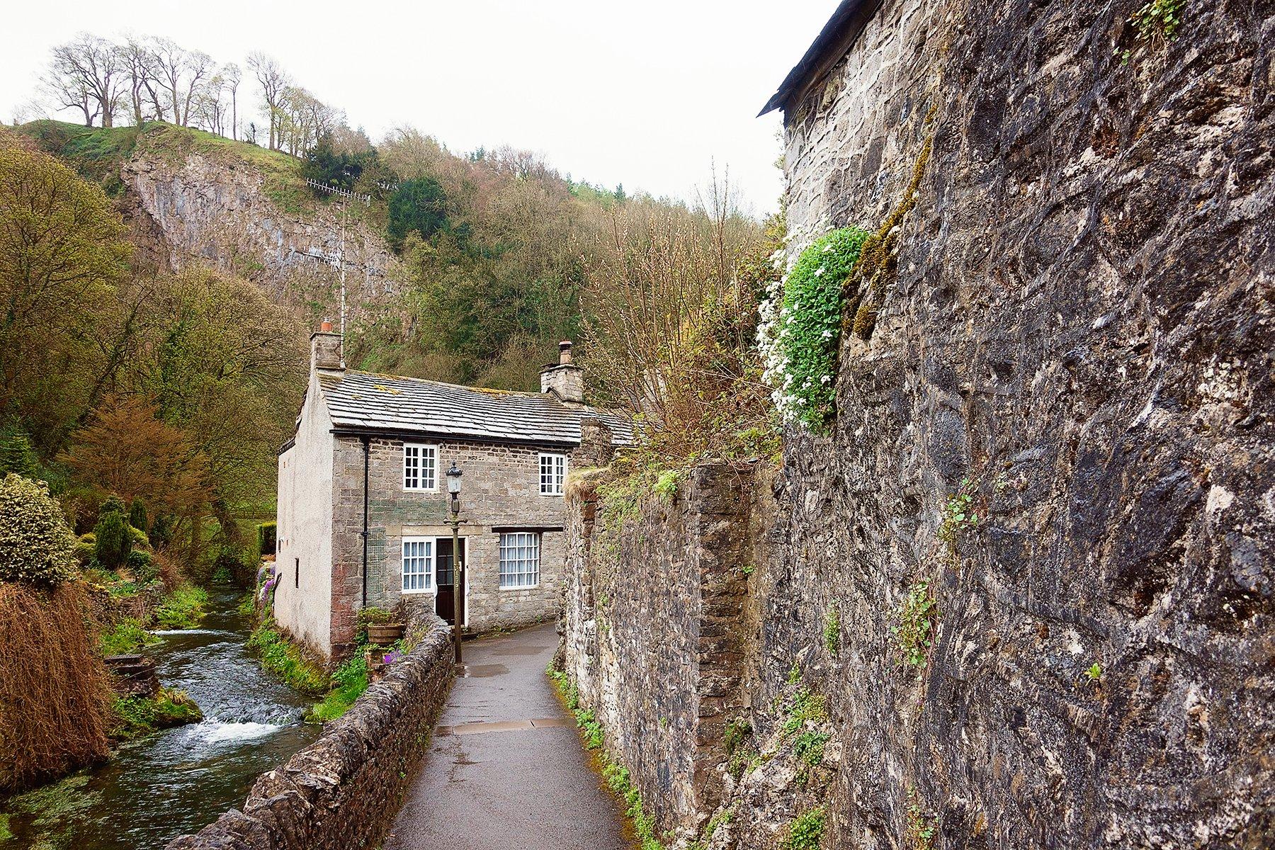 Castleton in the Peak District
