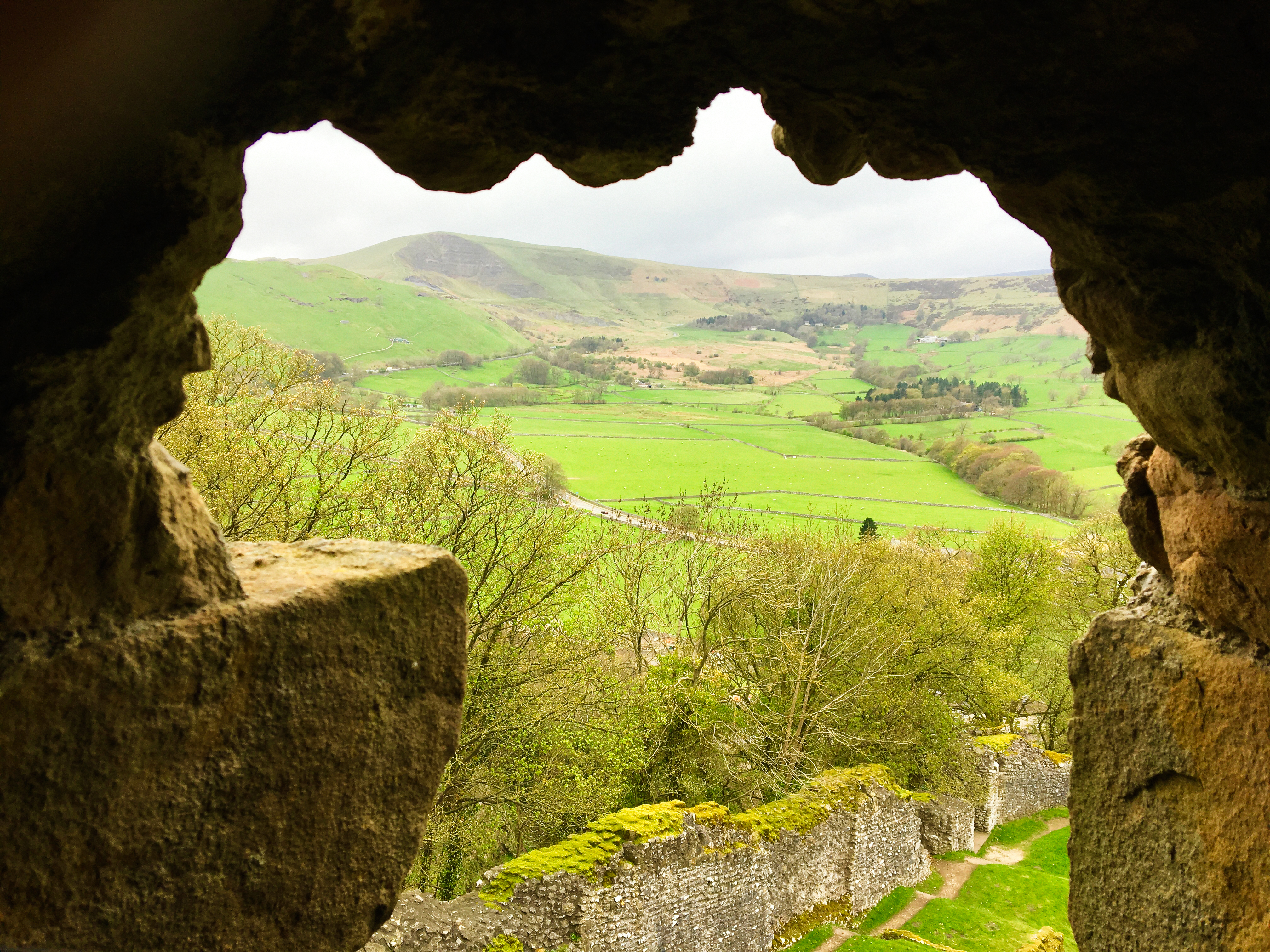 View from Peveril Castle