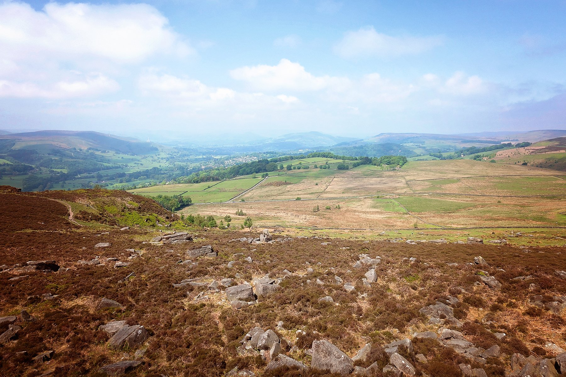 View from Over Owler Tor