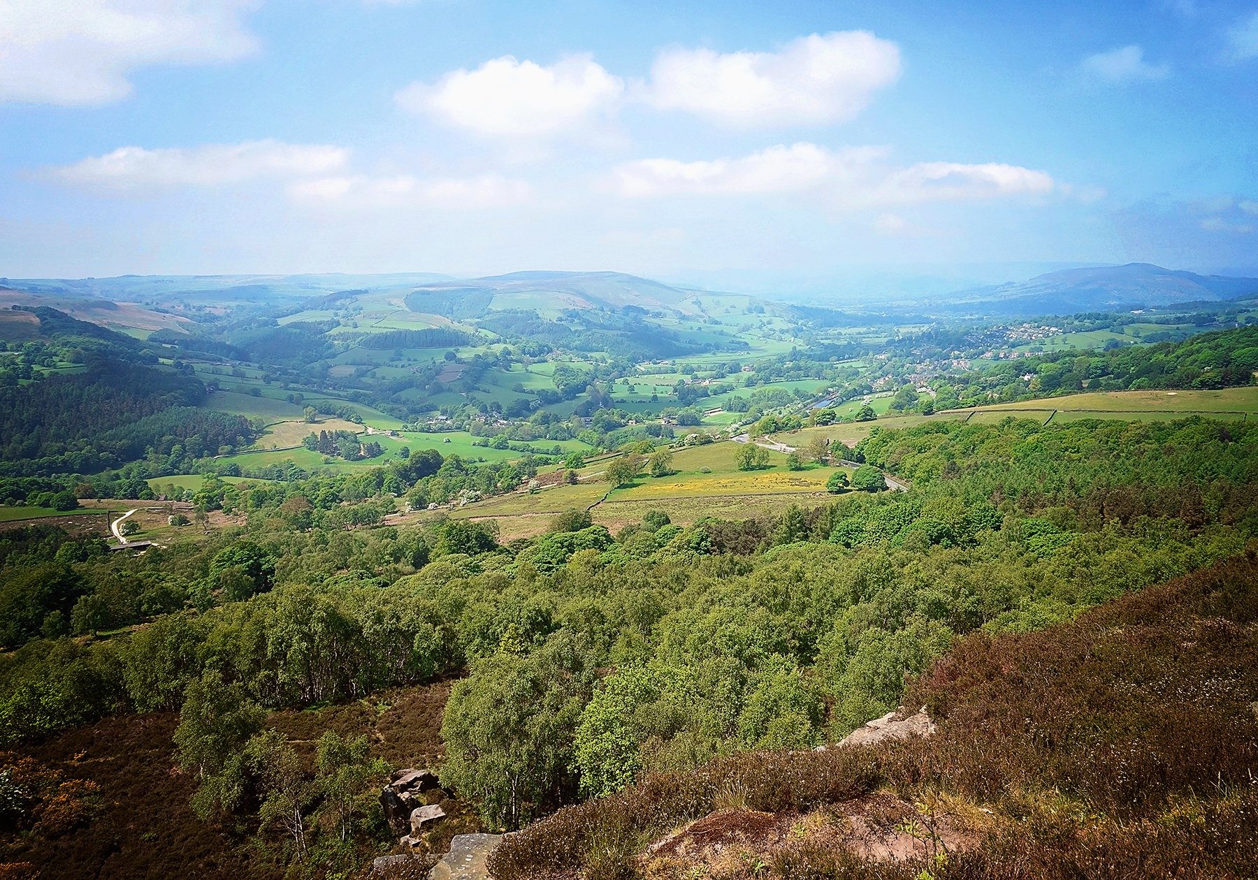 View on Hathersage