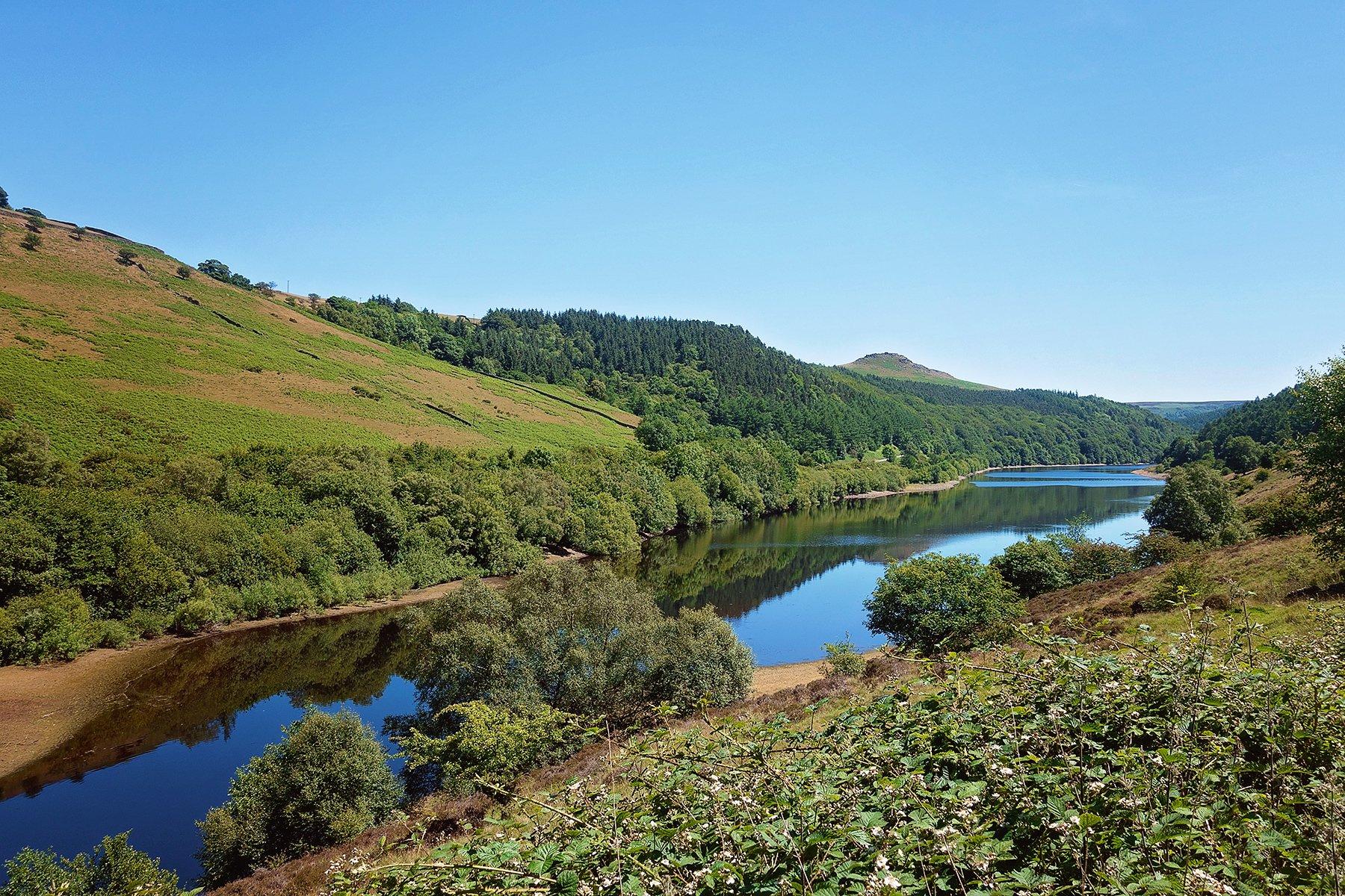Ladybower reservoir walk in Derbyshire