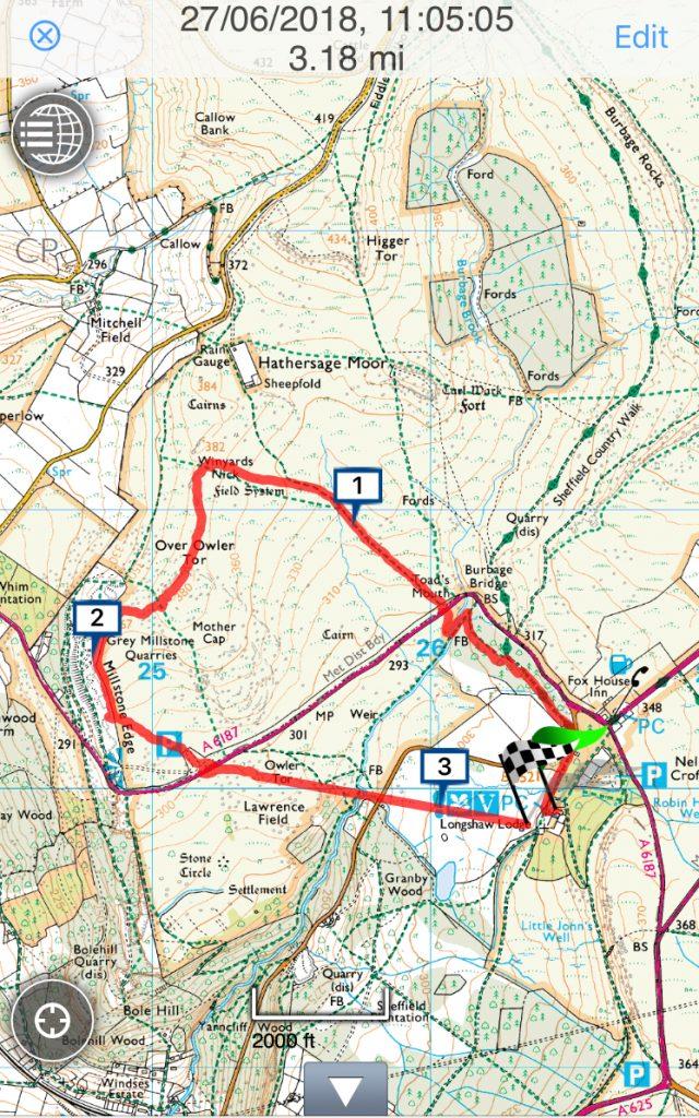 NT Longshaw guided walk