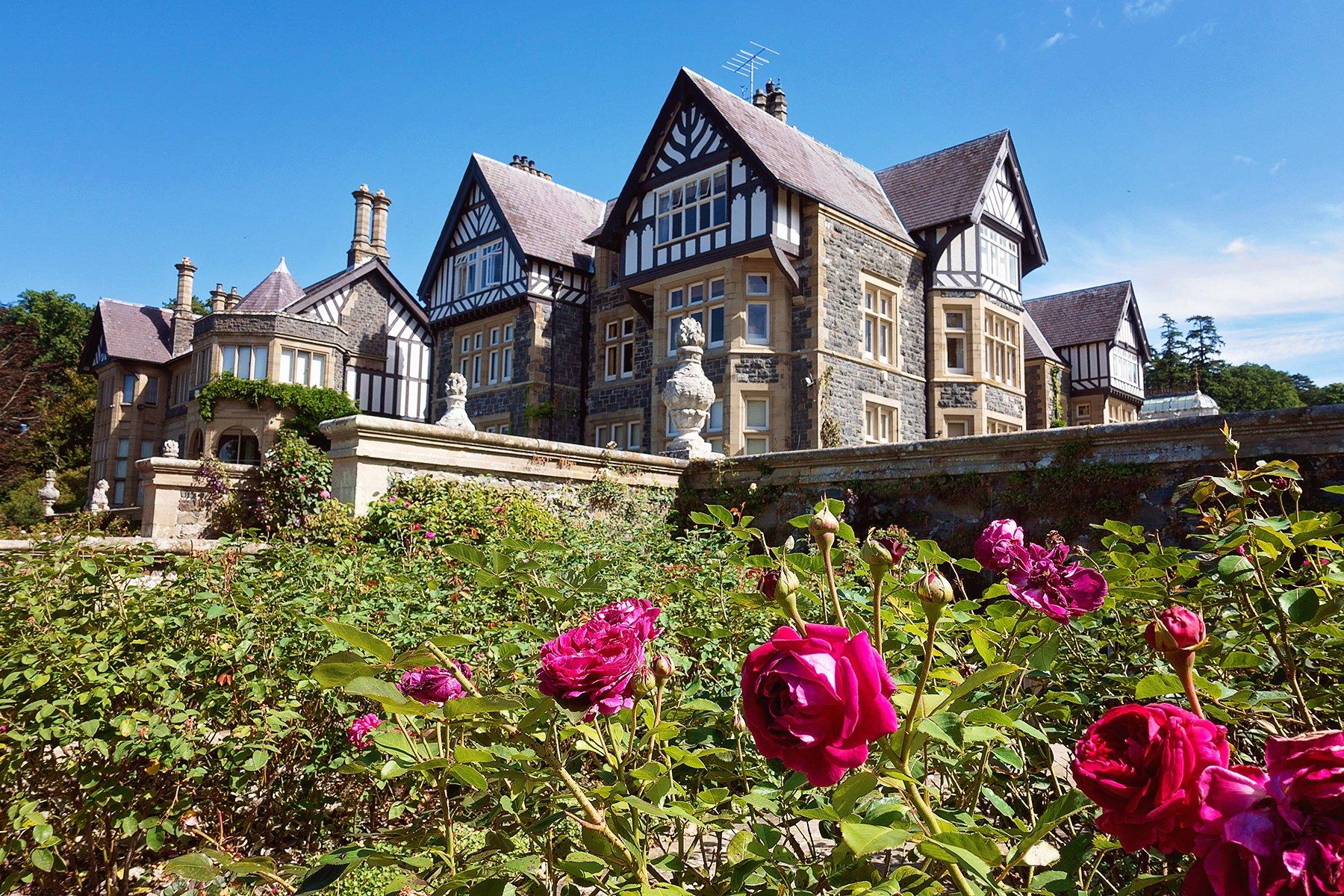 Bodnant garden in Wales