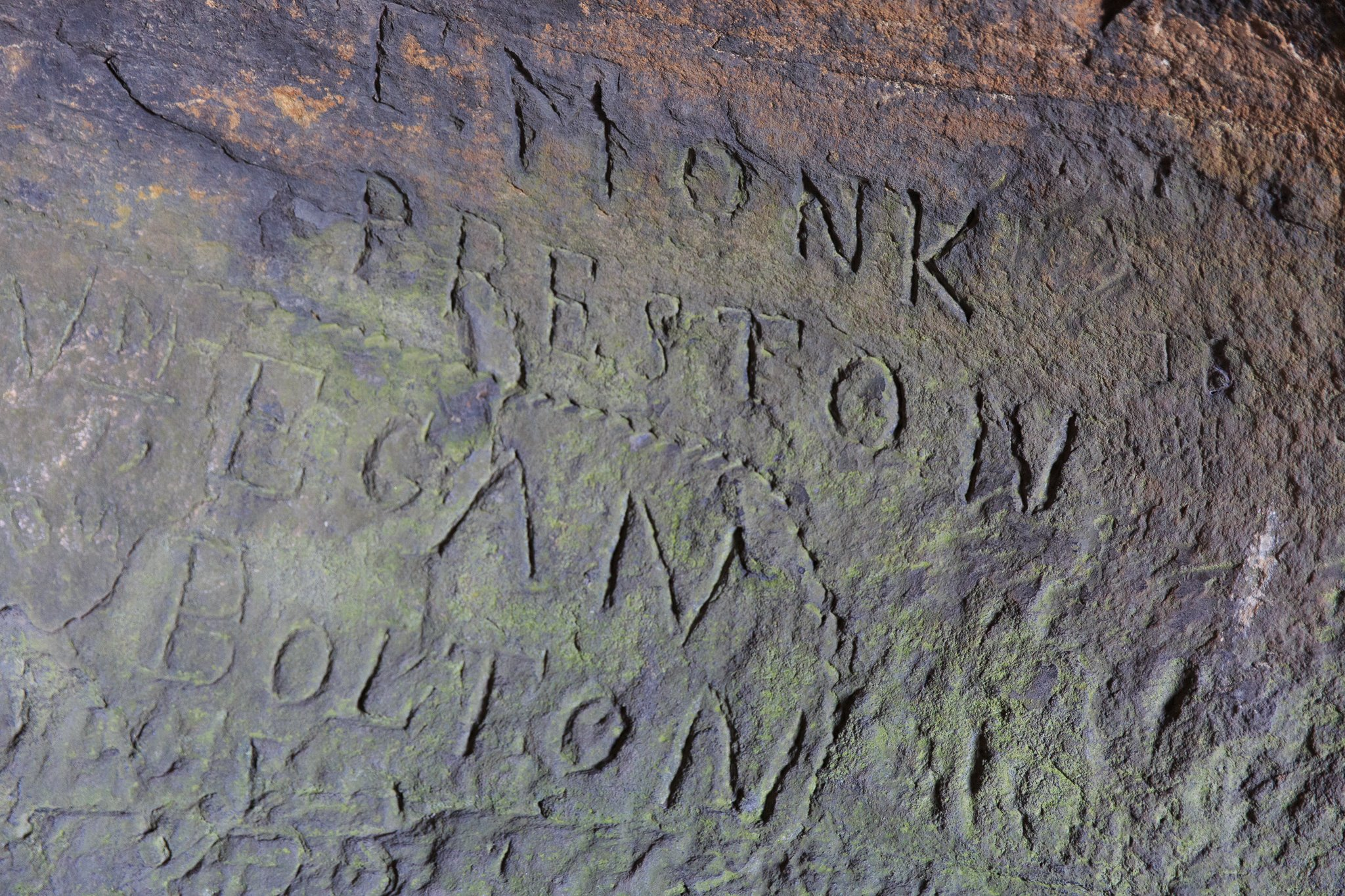 Robin Hood's Cave in Stanage Edge