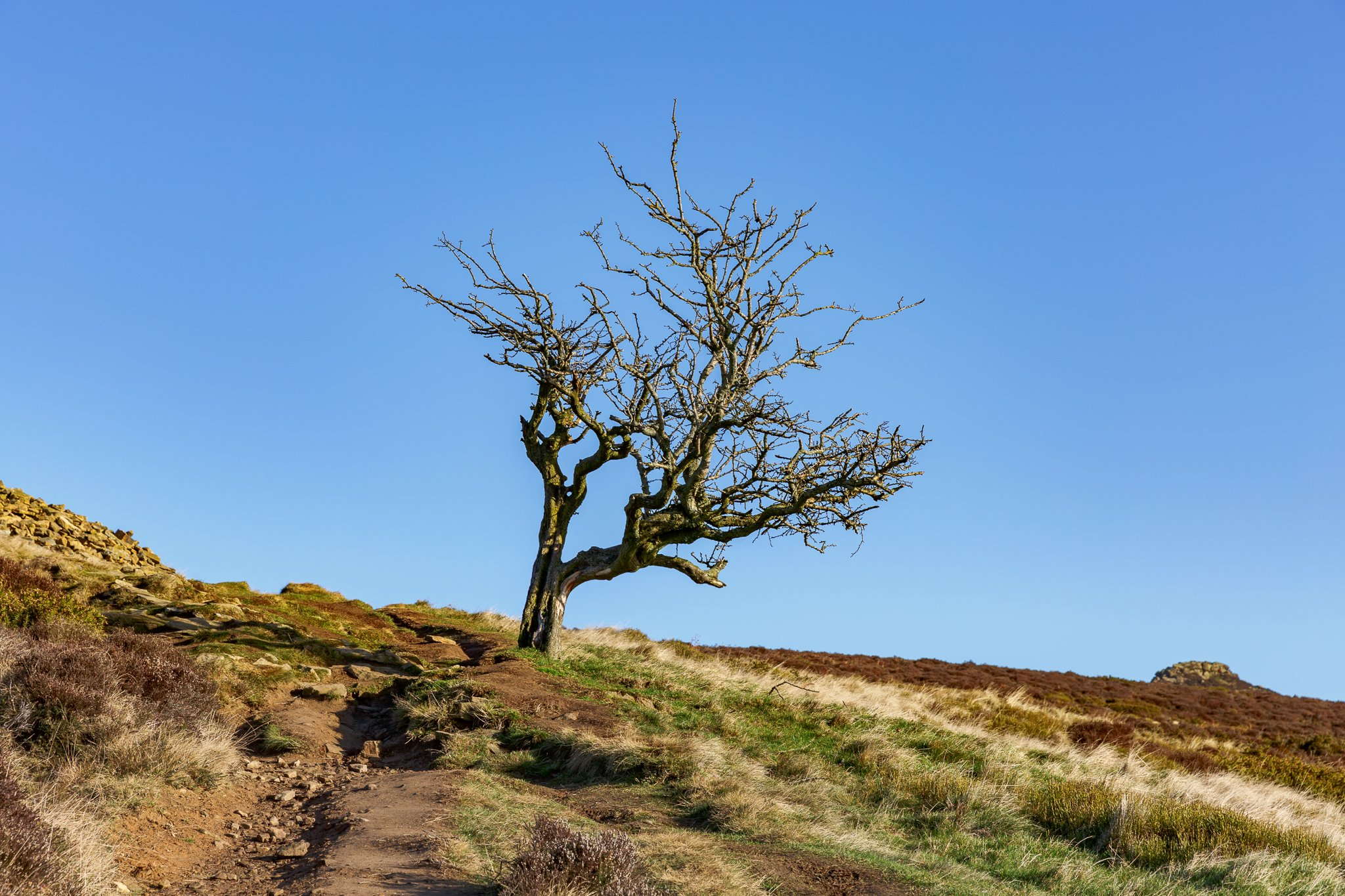 Win Hill in the Peak District