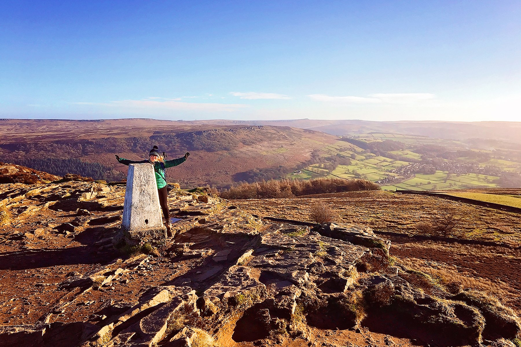 January walks in the Peak District