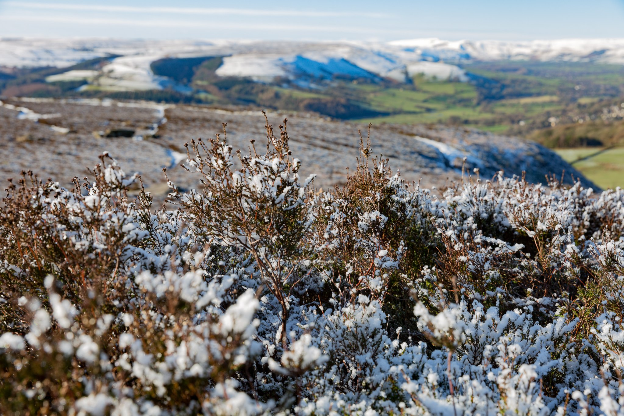 January in the Peak District National Park