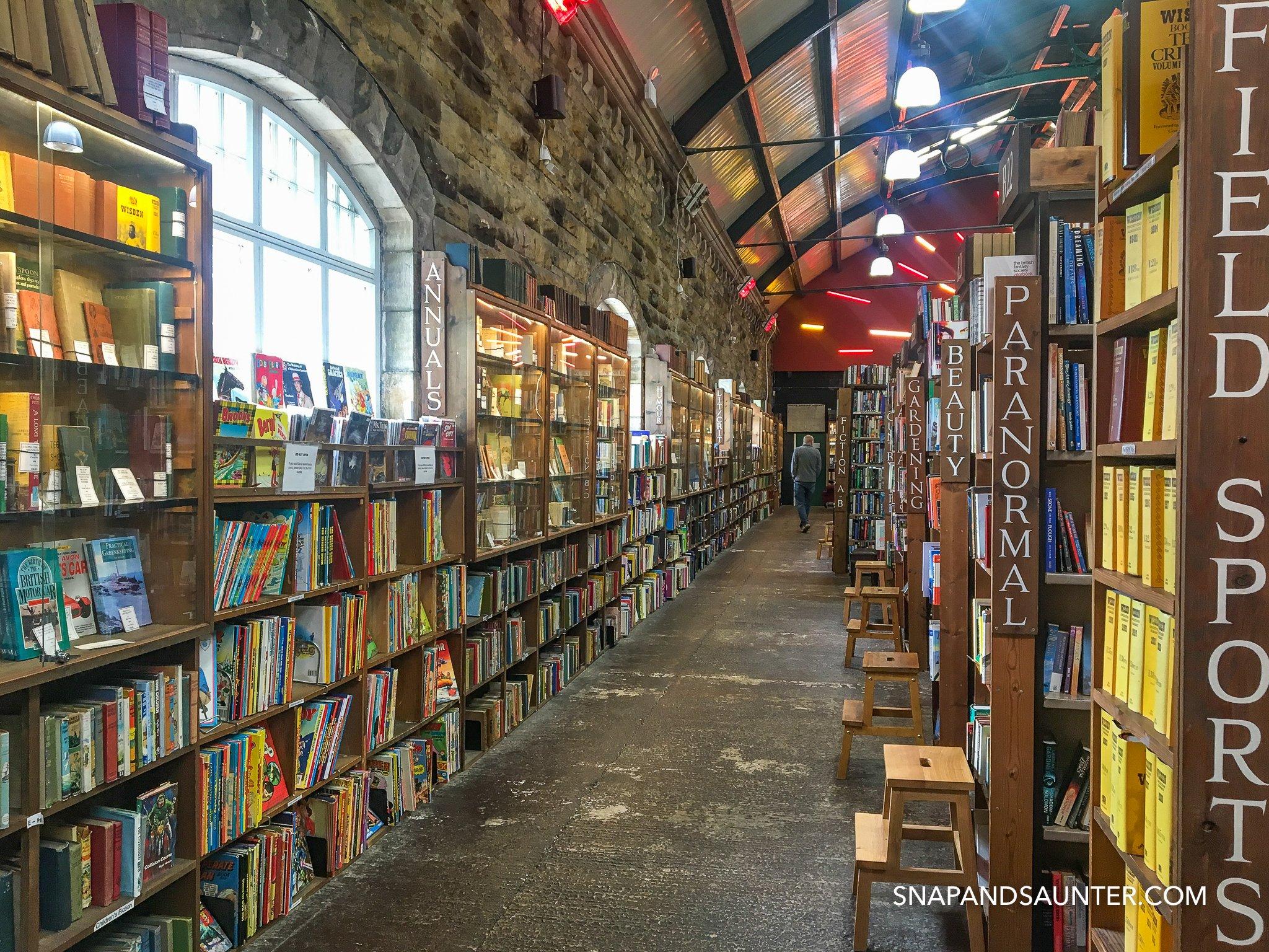 Barter Books bookshop library