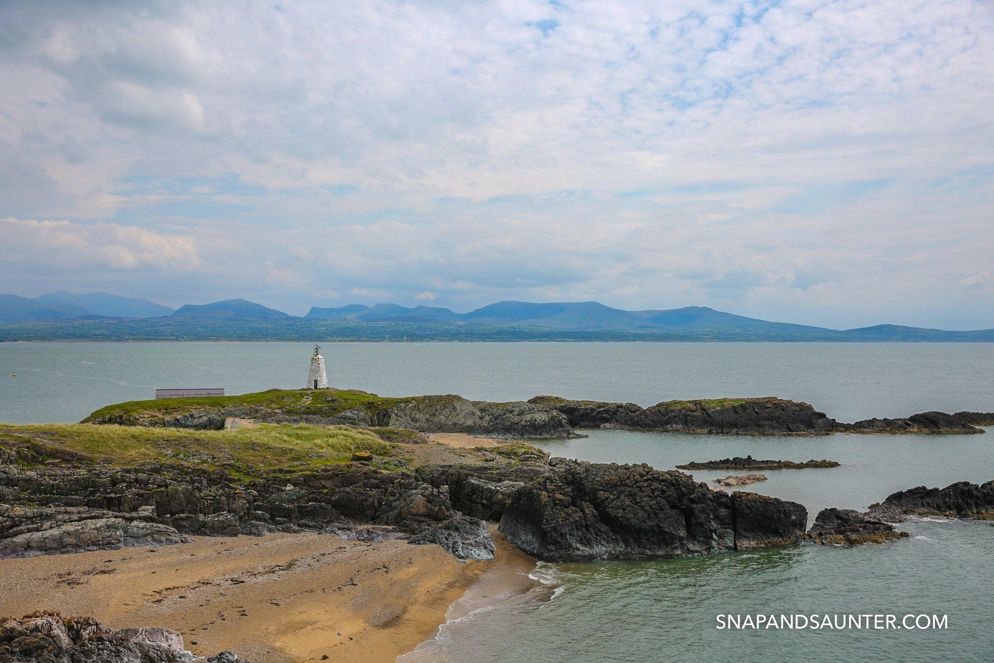 Llandwyn Island in Anglesey in Wales