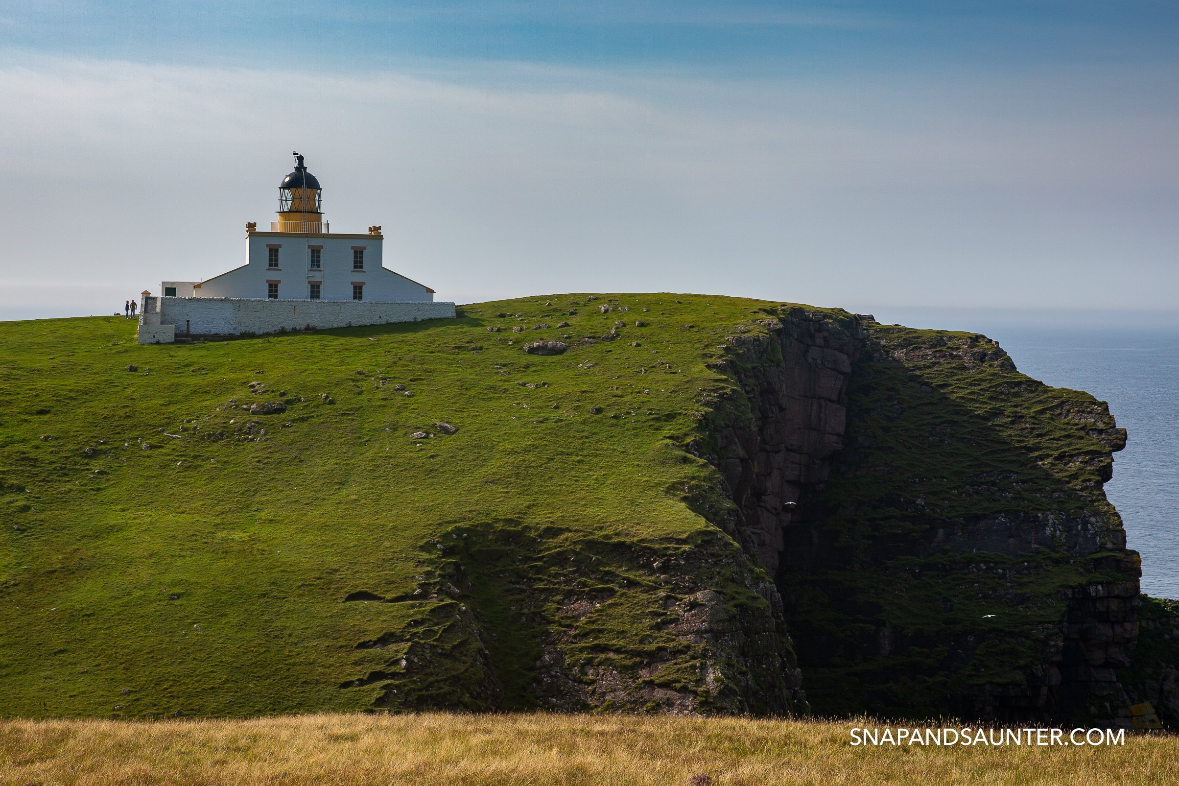 Stoer Lighthouse on the North Coast 500 route in Scotland