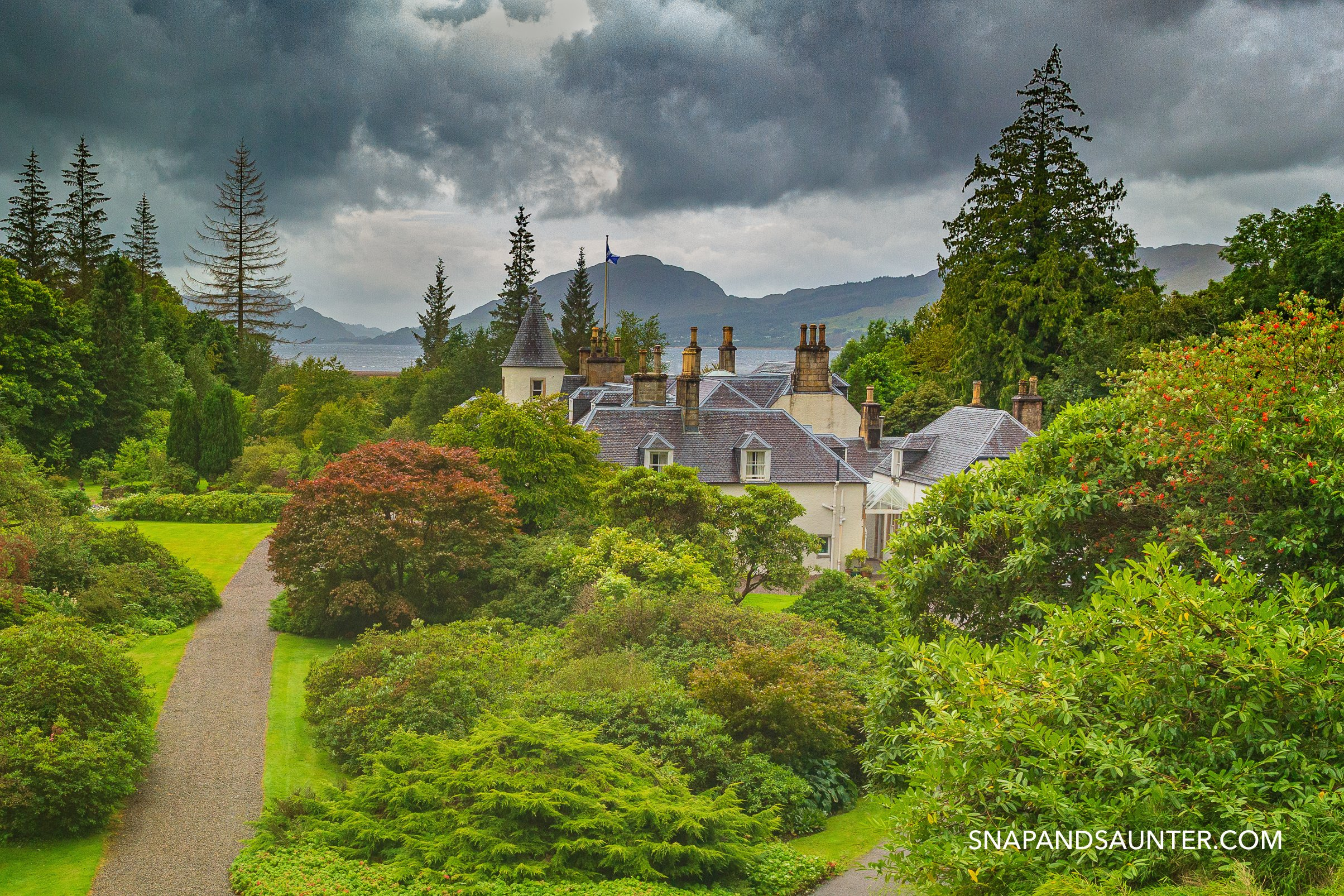Attadale Garden on North Coast 500 in Scotland