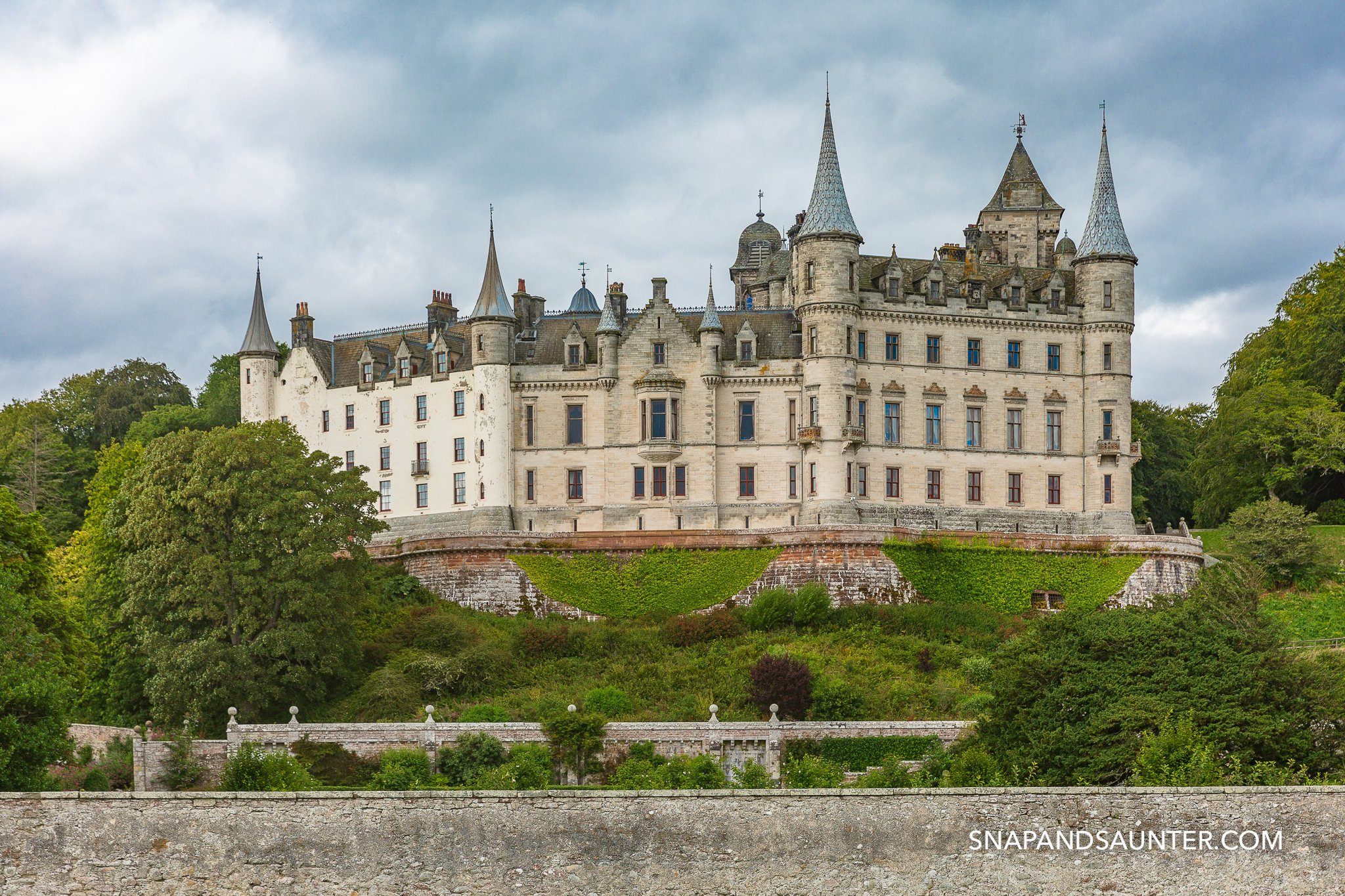 Dunrobin Castle on the North Coast 500 route