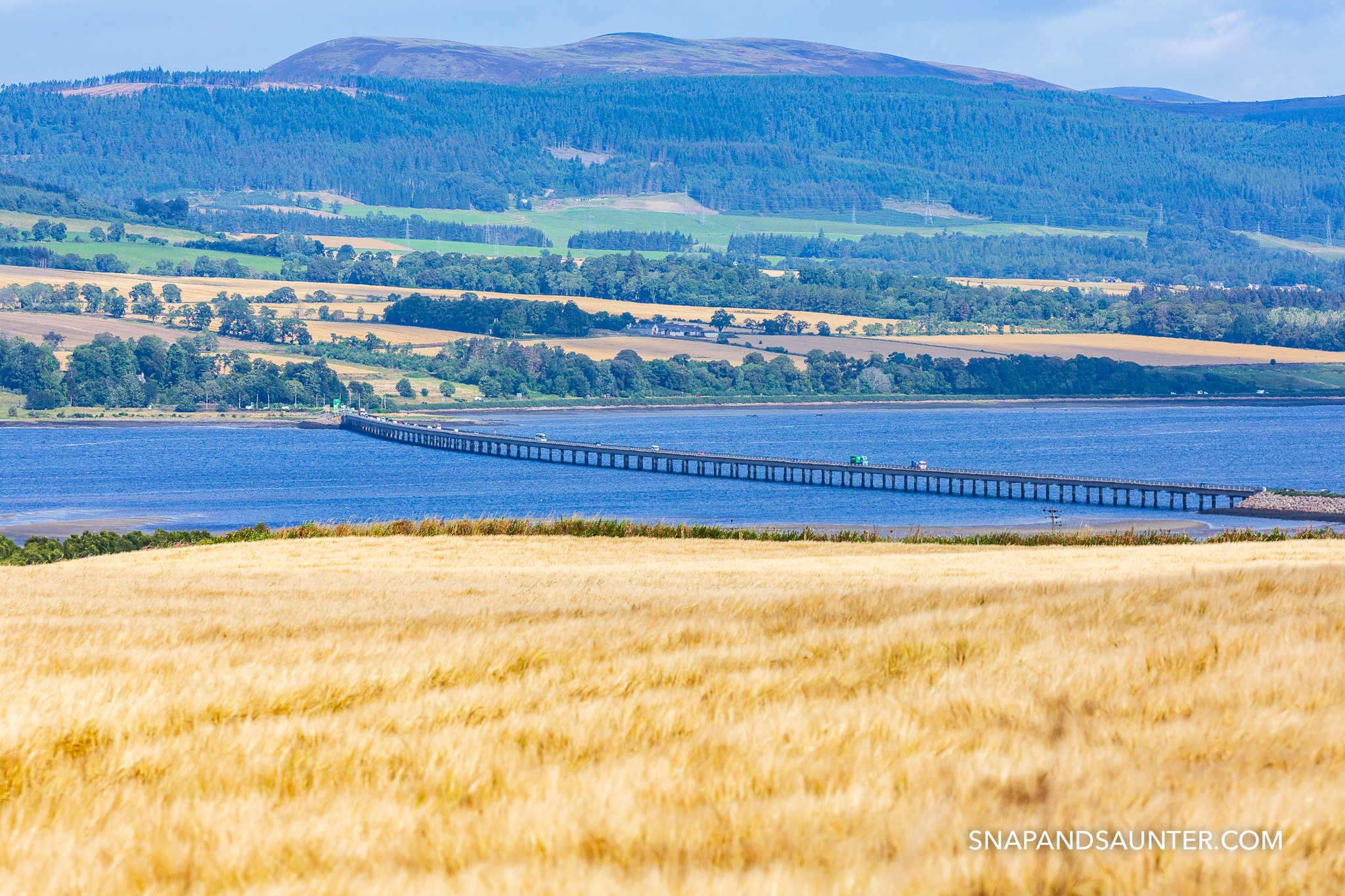 The Cromarty Bridge is a road bridge over the Cromarty Firth in Scotland.