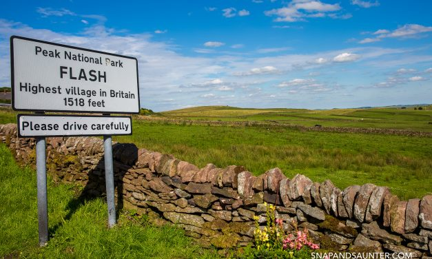 A WALK AROUND FLASH – BRITAIN'S HIGHEST VILLAGE, STAFFORDSHIRE