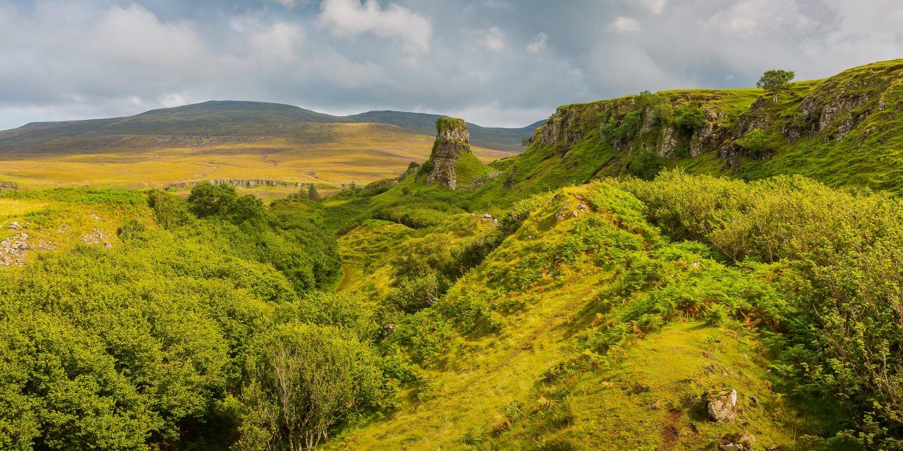 FAIRY GLEN: A CHARMING PLACE TO WANDER AROUND ON THE ISLE OF SKYE, SCOTLAND