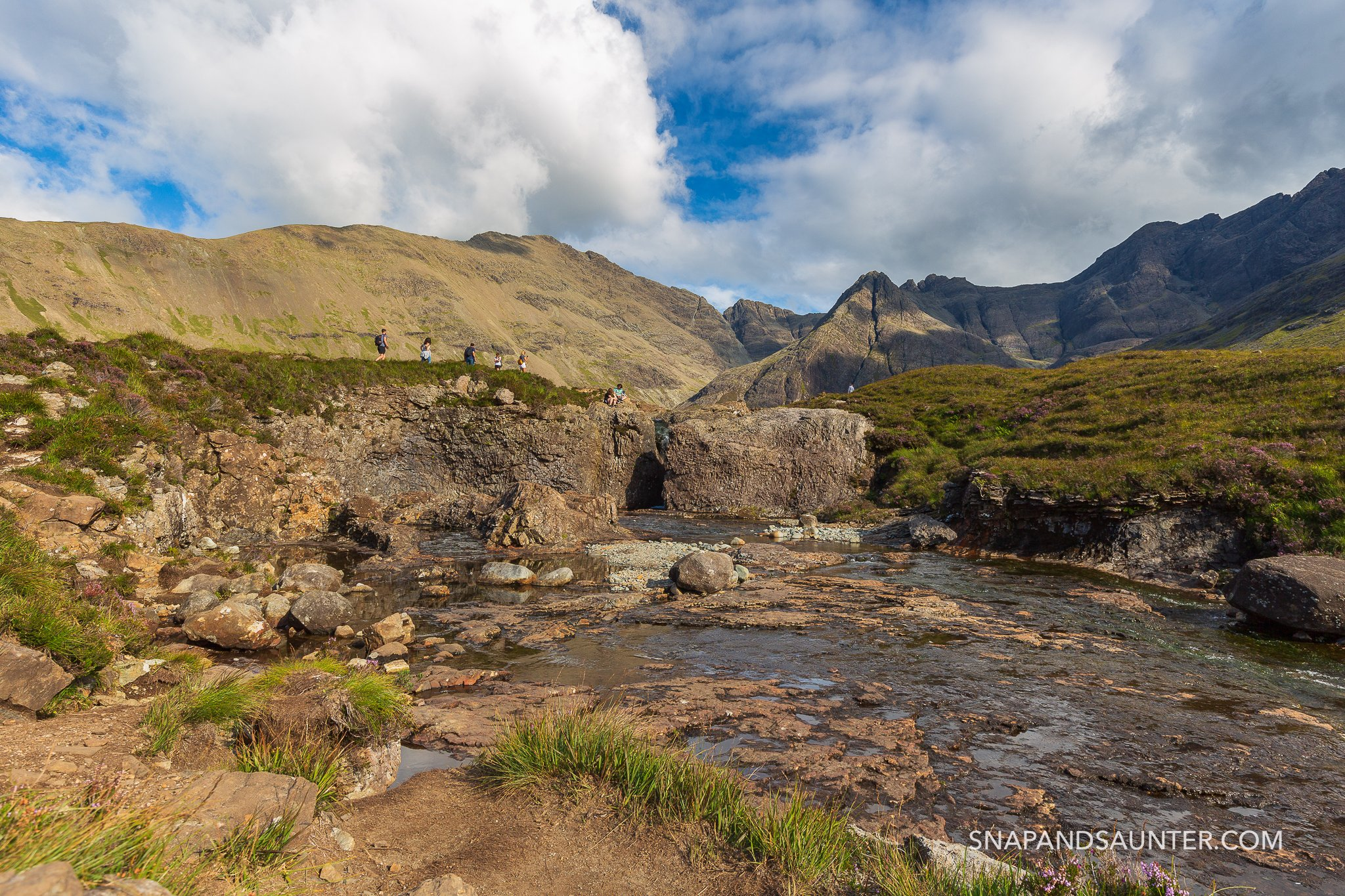 Fairy Pools on the Isle of Skye