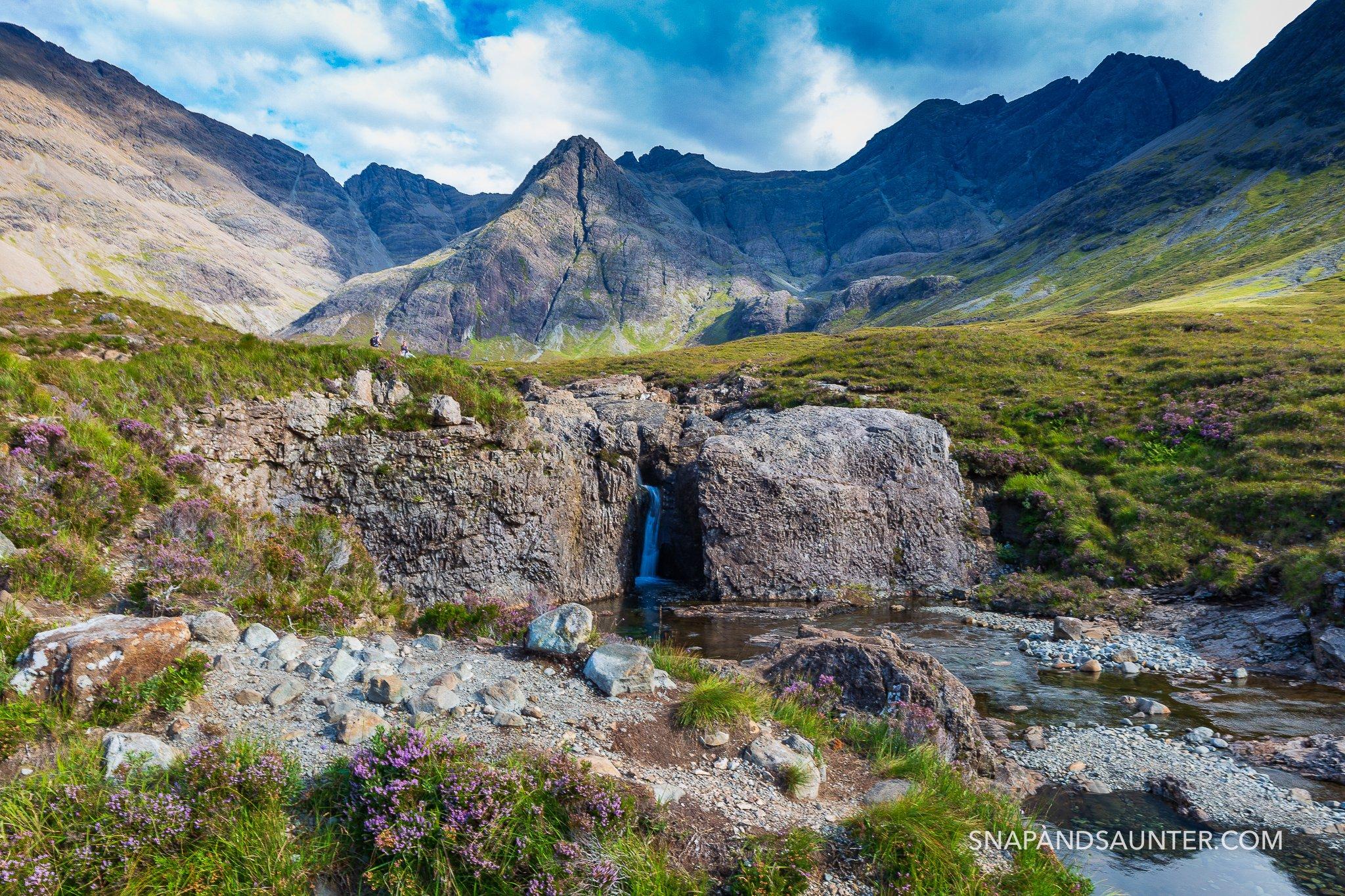 Fairy Pools Isle of Skye in Scotland