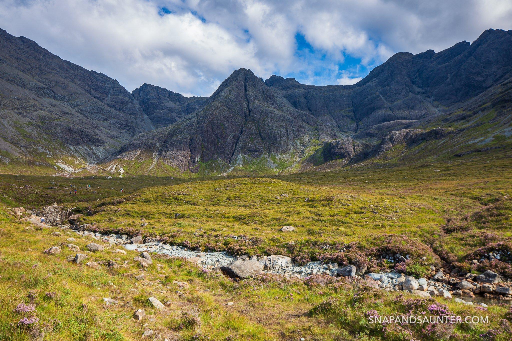 Sgurr an Fheadain on Isle of Skye